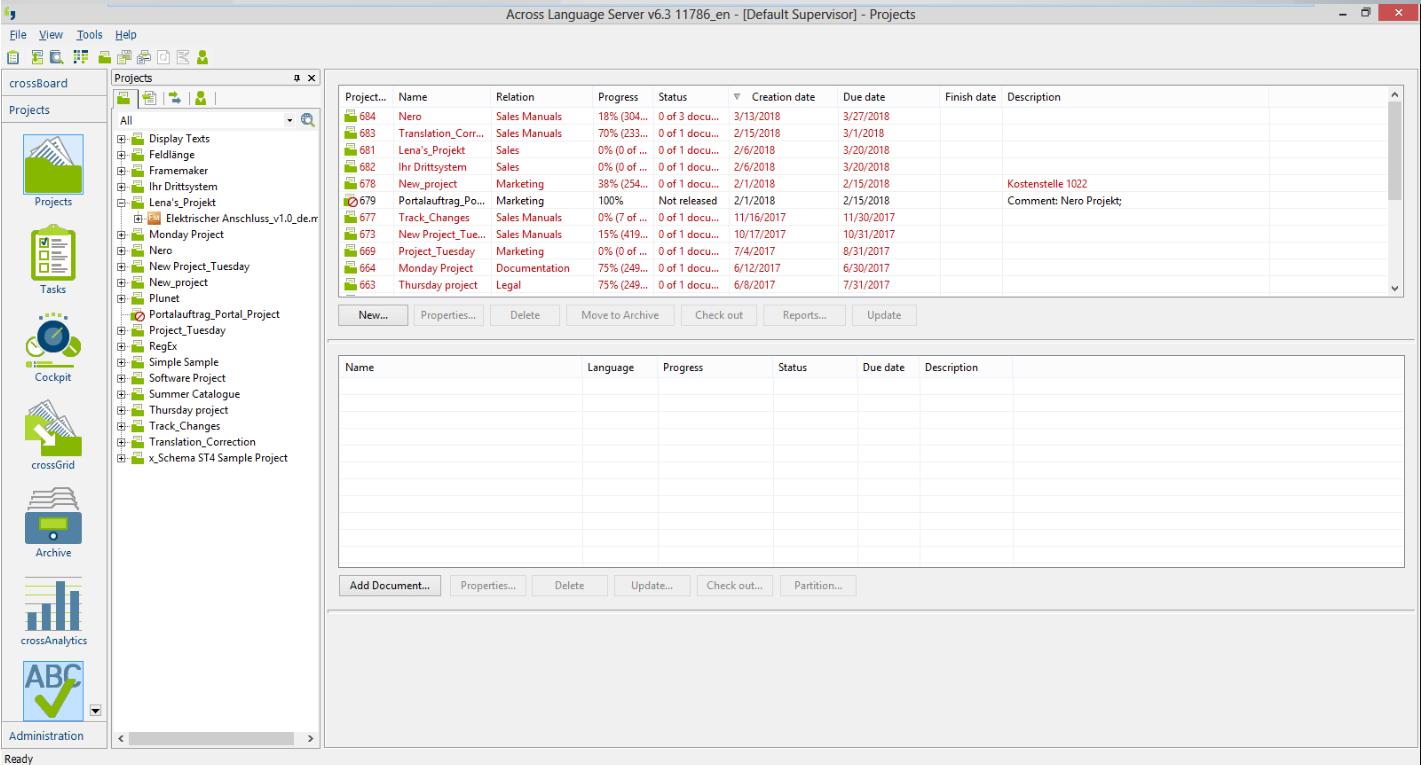 Across Language Server screenshot