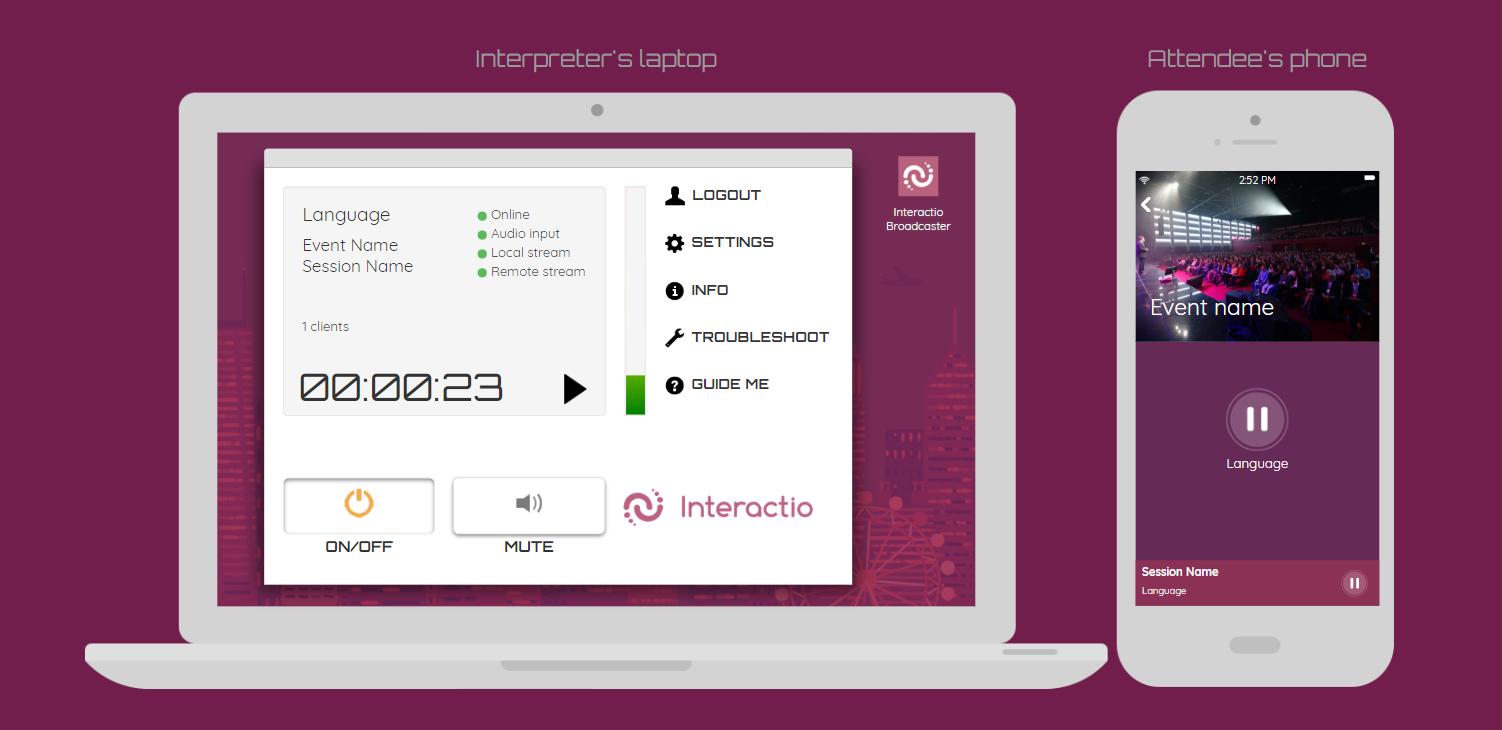 Interactio screenshot