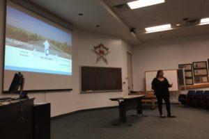 Claudia Mirza Speaks to UTA Class 2017