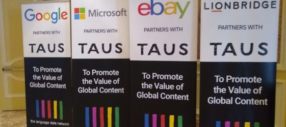 TAUS Global Content Conference Salt Lake City