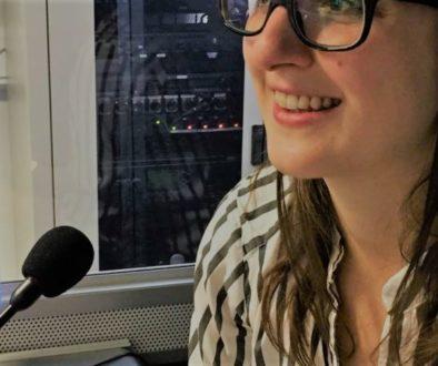 female conference interpreter