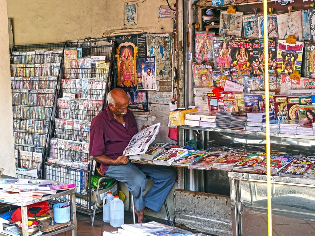 Hot off the Press: What We Can Learn About Indian Language Preferences from Newspapers and Periodicals