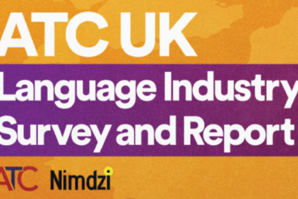 NIMDZI and ATC Report on UK Language Industry