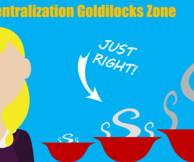 The Centralization Goldilocks Zone