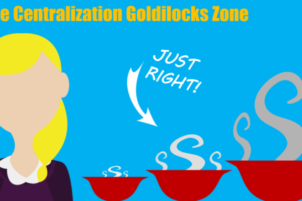 The Centralization Goldilocks Zone