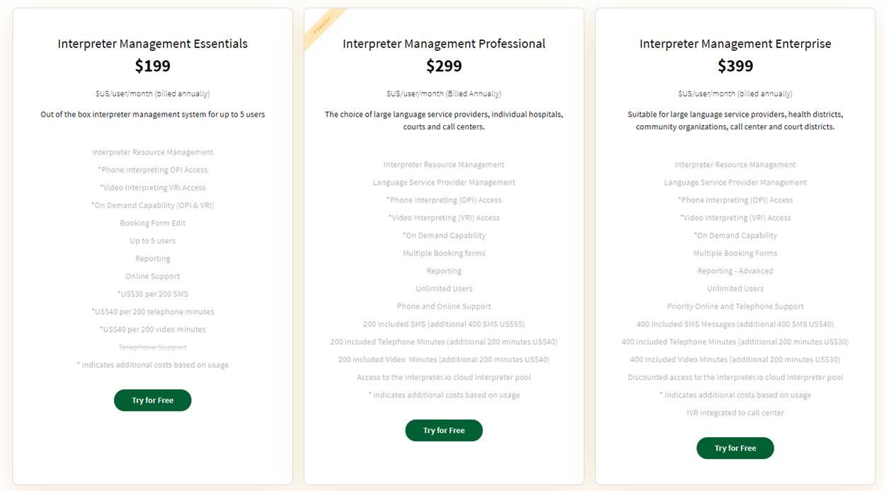 Interpreter.io screenshot