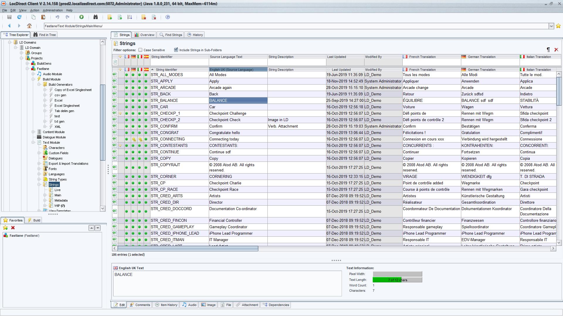 LocDirect screenshot