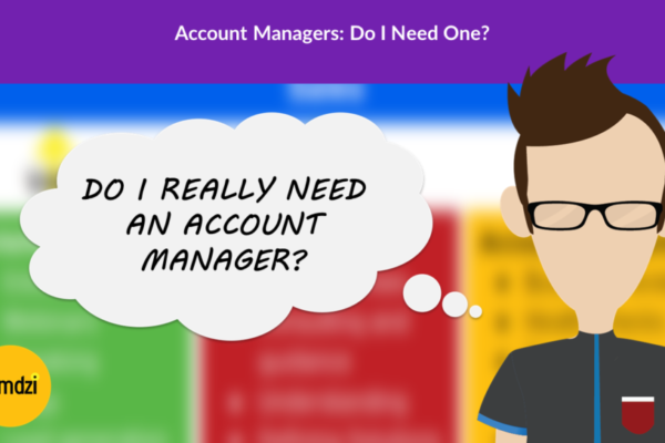 Do I need an Account Manager - Account Management