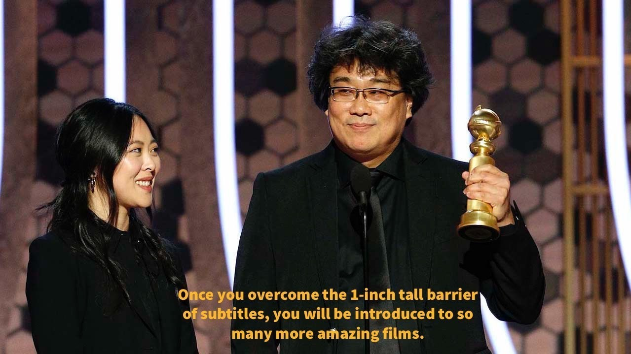 Dubbing and Subtitling - The Golden Globes - Oscars - Parasite - Winner