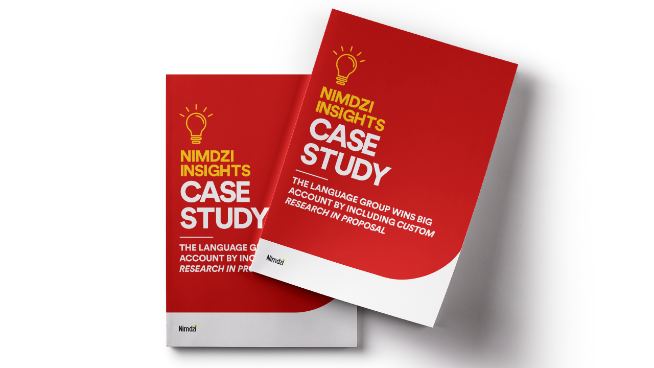 Case Study: The Language Group Wins Large Contract With Research-Backed Proposal