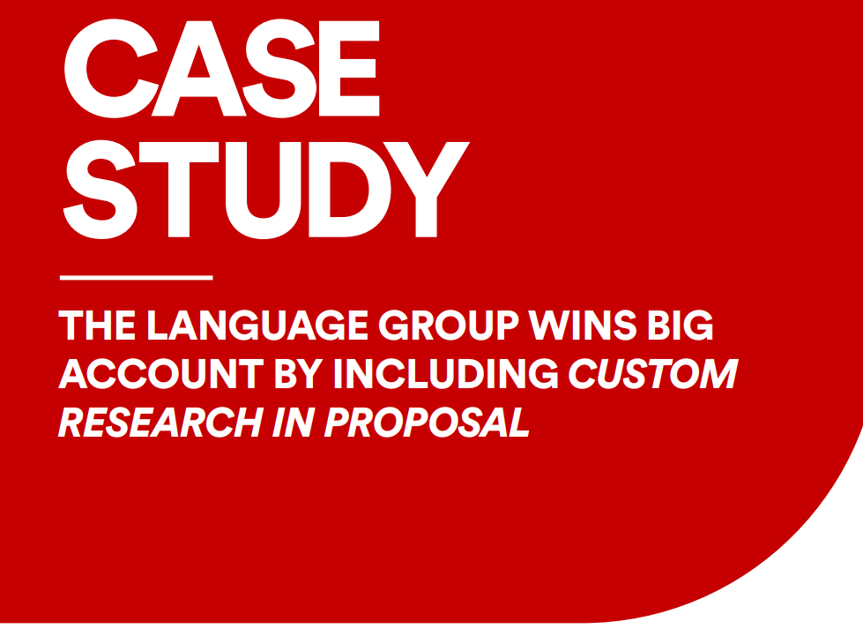 Case Study: Large Contract Won with Research-Backed Proposal