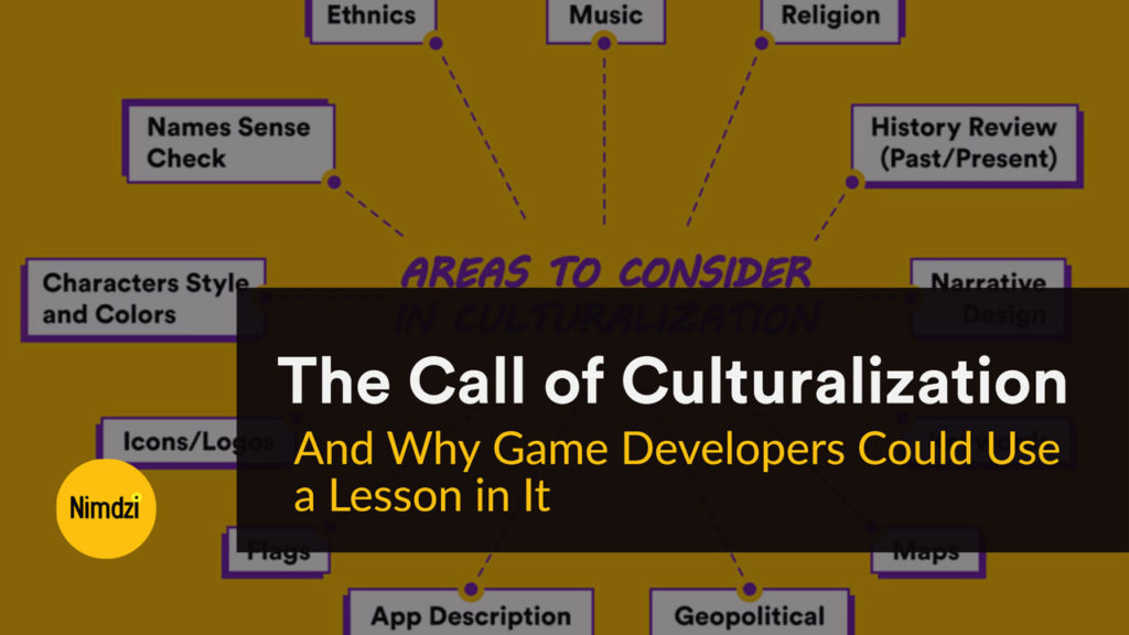 The Call of Culturalization