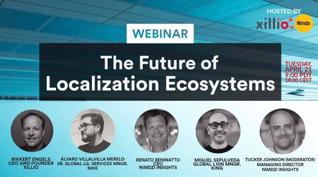 Webinar: The Future of Localization Ecosystems