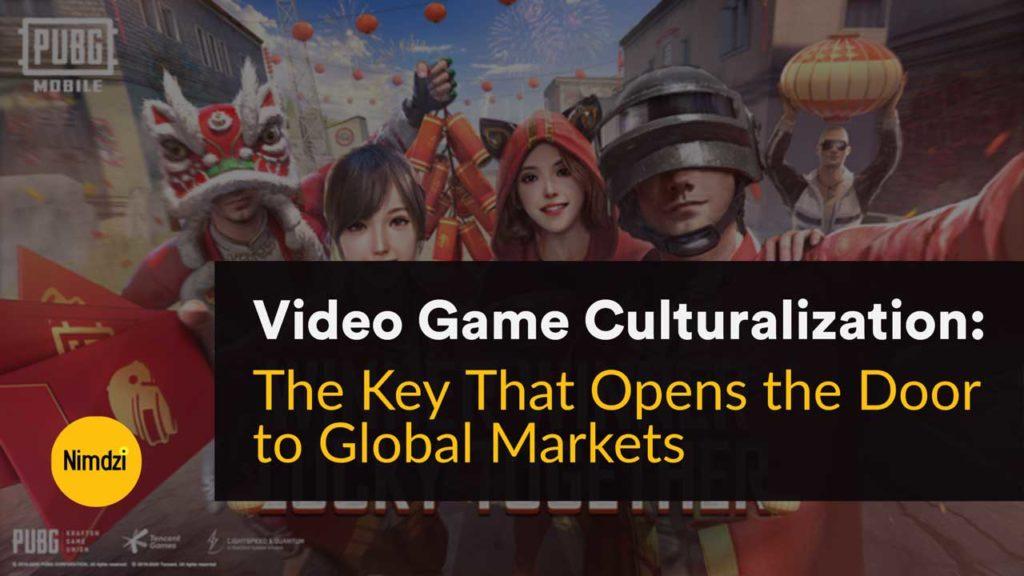 Video Game Culturalization