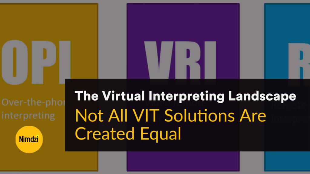 The Virtual Interpreting Landscape