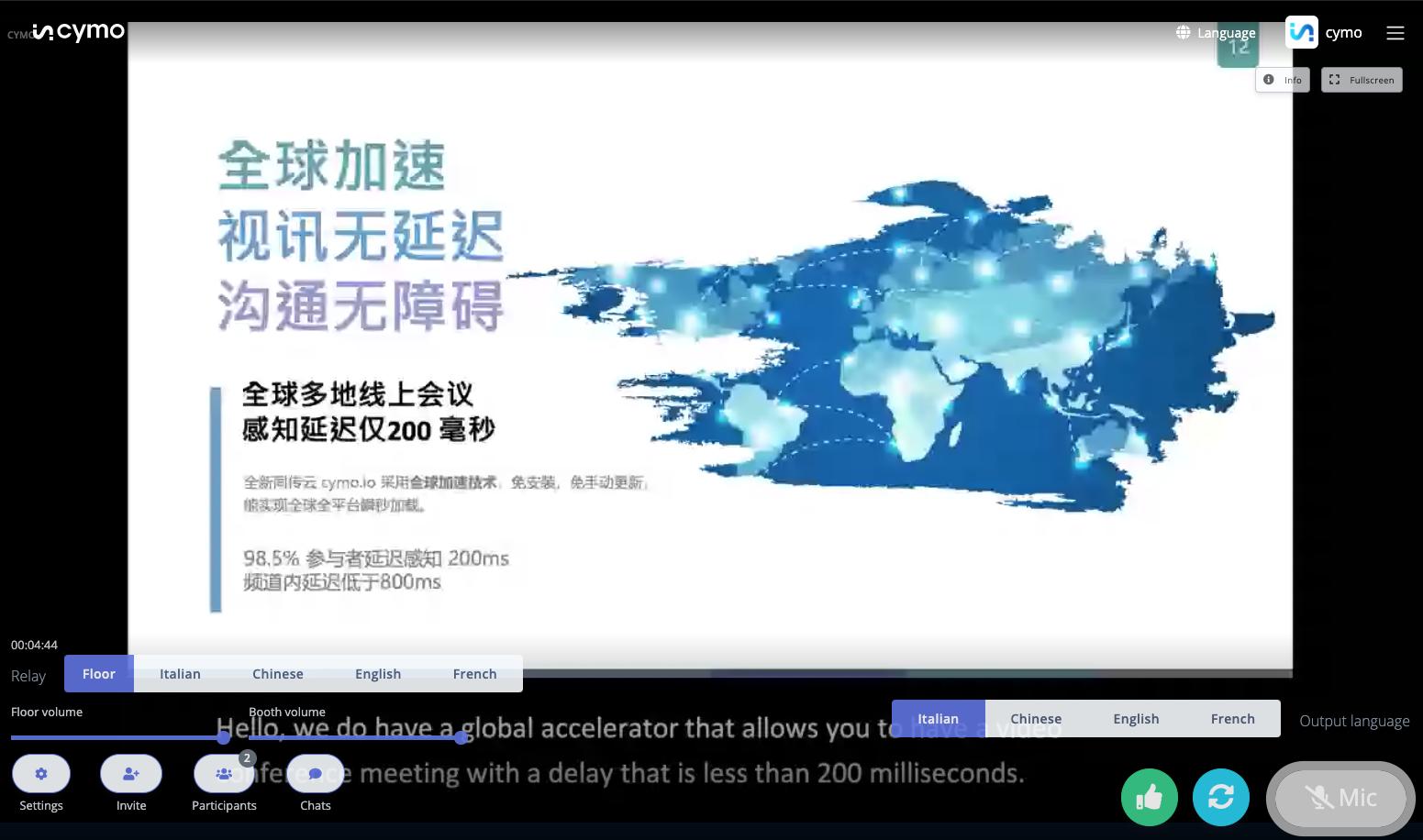 Cymo screenshot