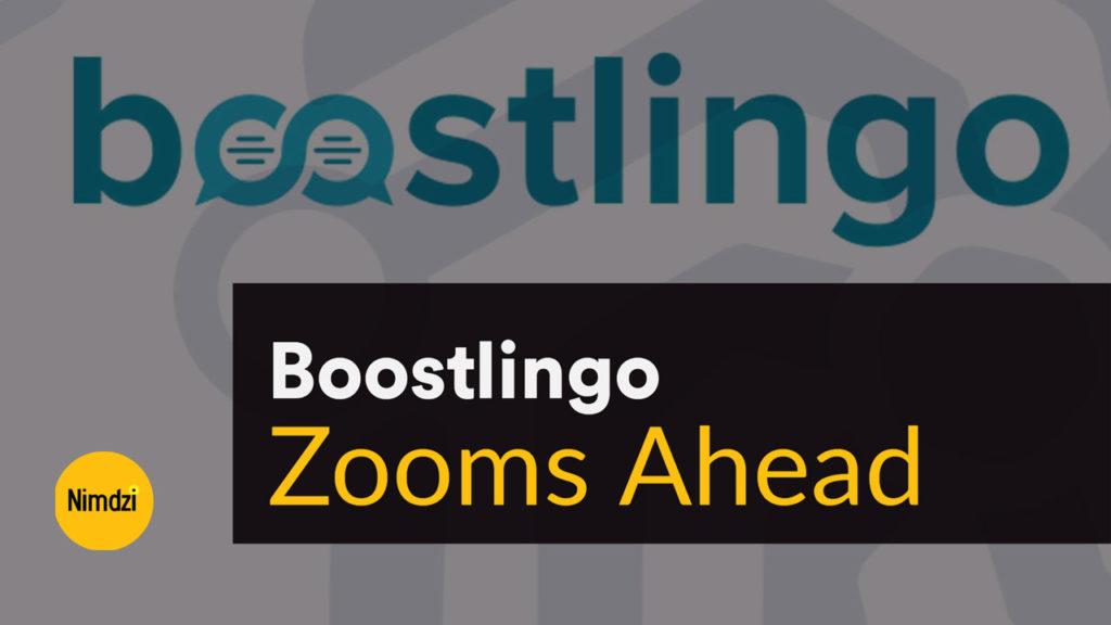 Boostlingo Zooms Ahead