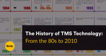 The History of TMS Technology: From the 80s to 2010