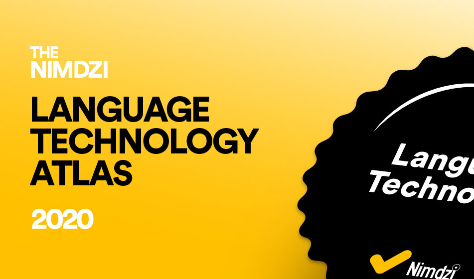 Nimdzi Language Technology Atlas 2020