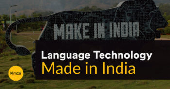 Language Technology Made in India