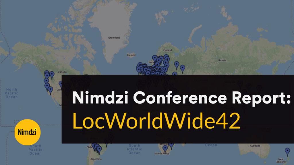 LocWorldWide42 - Nimdzi Conference Report