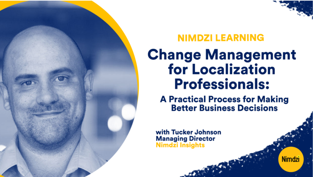 Change Management for Localization Professionals