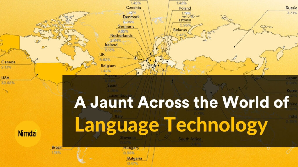 Feature image of the Jaunt Across the World of Language Technology Finger Food