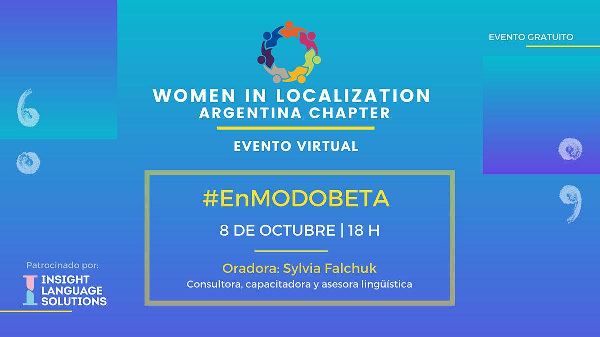 WLAR: #EnMODOBETA by Sylvia Falchuk