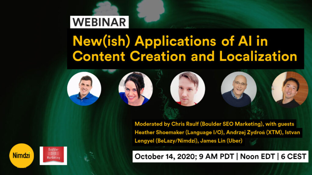 New(ish) Applications of AI in Content Creation and Localization