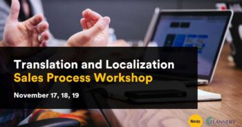 Translation and Localization Sales Process Workshop
