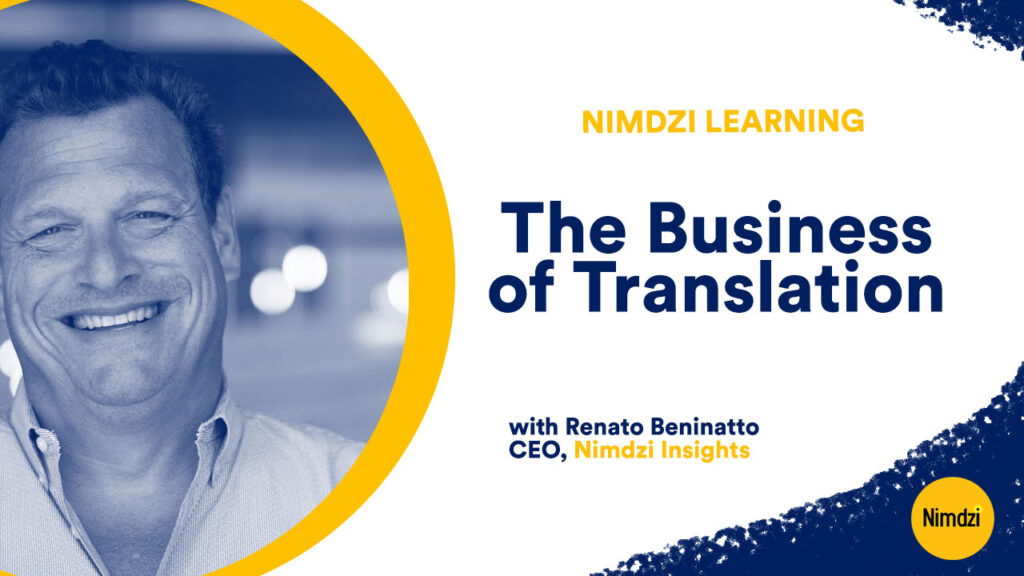 The Business of Translation