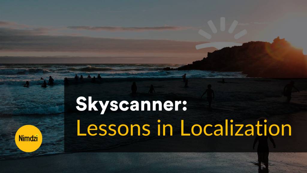 Lessons in Localization: Skyscanner