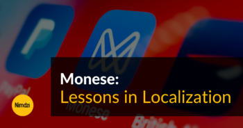 Lessons in Localization: Monese