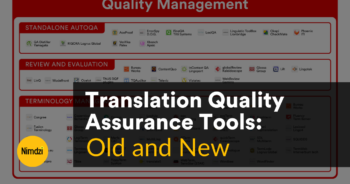 Translation Quality Assurance Tools: Old and New