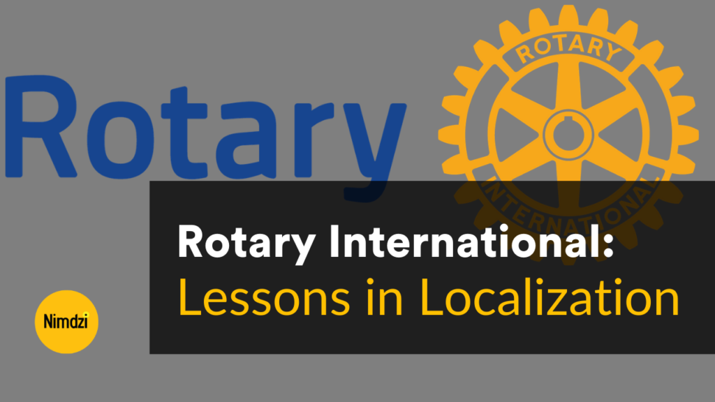 Rotary International localization
