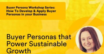 Buyer Personas that Power Sustainable Growth – with Gráinne Maycock