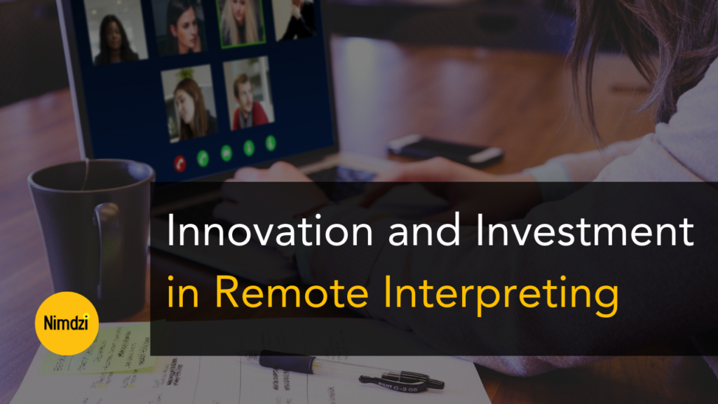 remote interpreting innovation