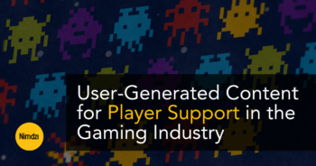User-Generated Content For Player Support in the Gaming Industry