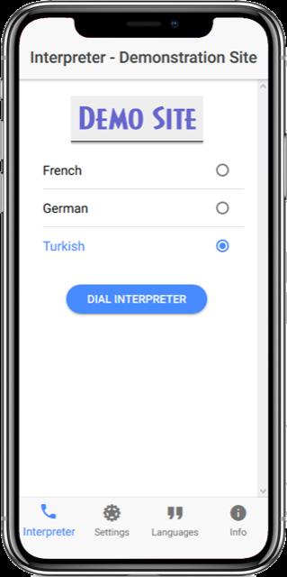 InterpreterLine by Miton screenshot