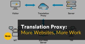 Translation Proxy: More Websites, More Work