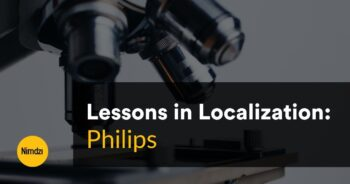 Lessons in Localization: Philips