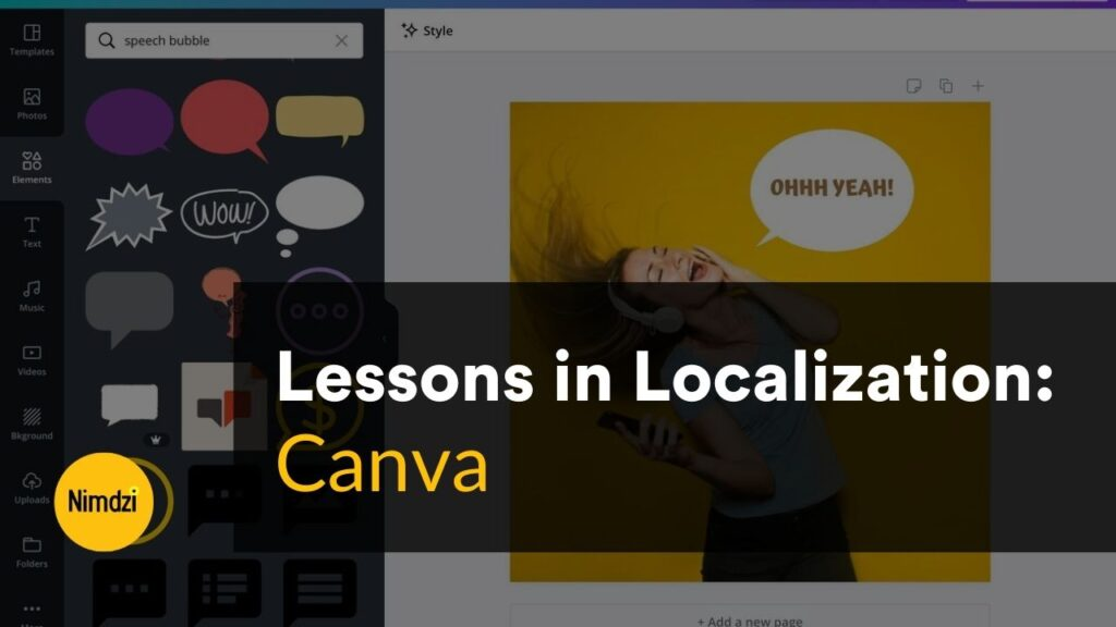 Lessons in Localization: Canva