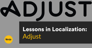 Lessons in Localization: Adjust