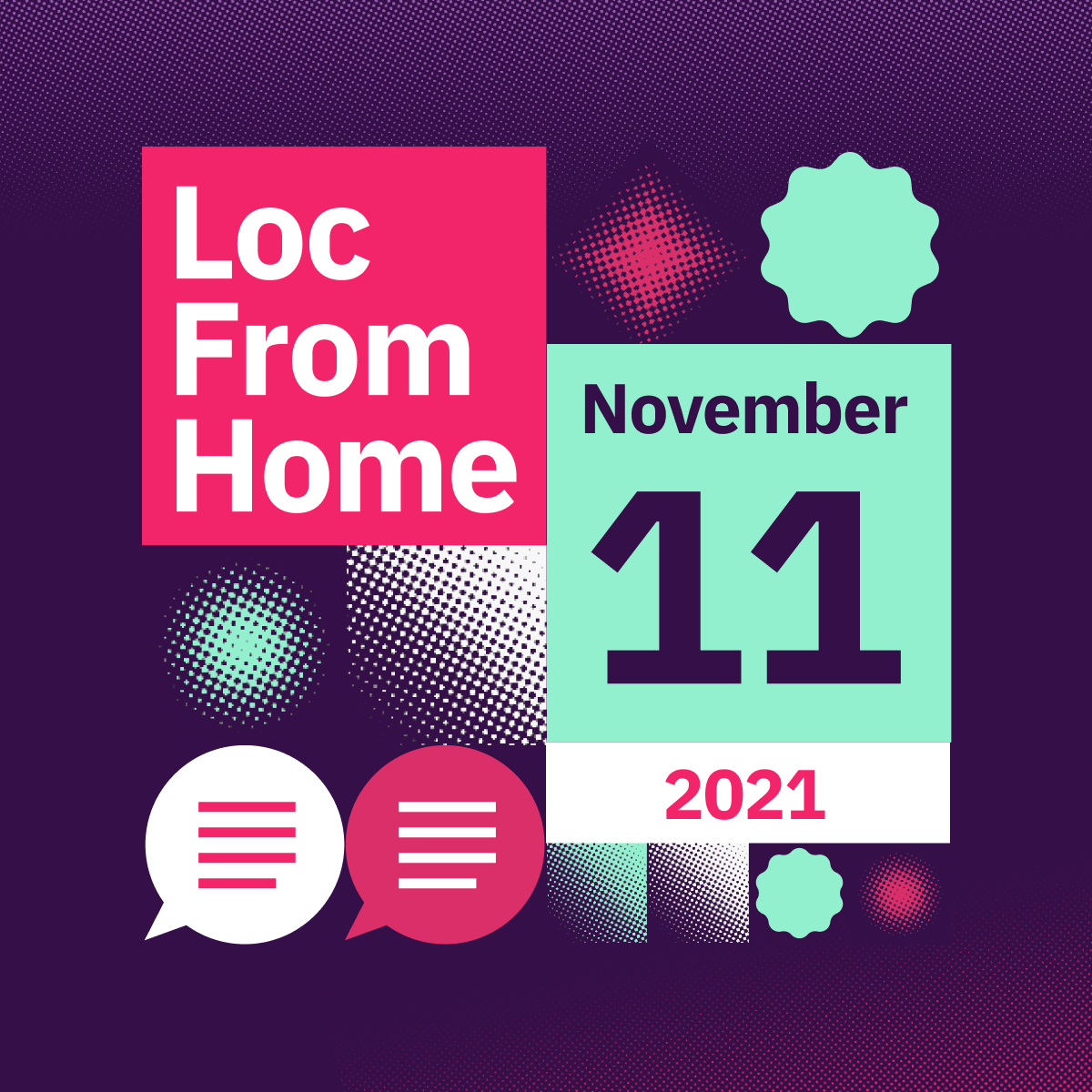 #LocFromHome — Globalization Online Festival